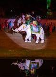 Ayutthaya Ligth & ядровое представление 2012 стоковые изображения