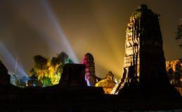 Ayutthaya Ligth & Correcte Presentatie 2012 Royalty-vrije Stock Fotografie
