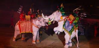 Ayutthaya Ligth & Sound Presentation 2012 Stock Photo