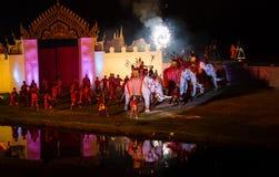 Ayutthaya Ligth y presentación sana 2012 Imagenes de archivo