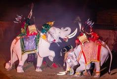 Ayutthaya Ligth y presentación sana 2012 Foto de archivo