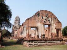 Ayutthaya old temple Stock Image