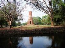 Ayutthaya old temple Royalty Free Stock Image