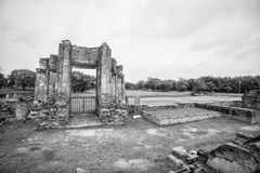Ancient gate was standing up even is old ages, Ayutthaya Thailand. Ayutthaya is one of tourist destination in thailand. the place has many historical place and stock photos