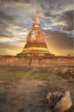 ayutthaya pagodowy świątynny Thailand Zdjęcia Royalty Free