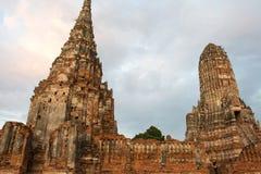 Ayutthaya remains. Ruins of Ayutthaya, Thailand Beautiful Royalty Free Stock Images