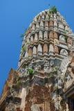 Ayutthaya Ruinen, buddhistischer Tempel Lizenzfreies Stockbild