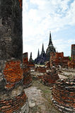 Ayutthaya ruins Royalty Free Stock Photos
