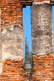 Ayutthaya Ruins Stock Photography