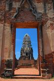 Ayutthaya ruins, buddhist temple Stock Photo