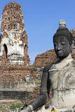 Ayutthaya ruiny Obraz Stock