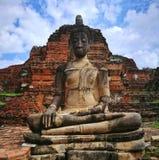 Ayutthaya som är forntida fördärvar, gammal huvudstad, Bangkok, Thailand arkivbild
