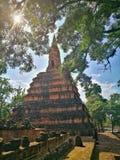 Ayutthaya som är forntida fördärvar, gammal huvudstad, Bangkok, Thailand royaltyfri foto