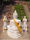 Ayutthaya. Statue in temple Ayutthaya Royalty Free Stock Photo