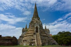 Ayutthaya, Tailândia Imagens de Stock Royalty Free