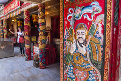 Ayutthaya, Tailândia - outubro, 21, 2016: Feche acima de t tradicional Fotografia de Stock