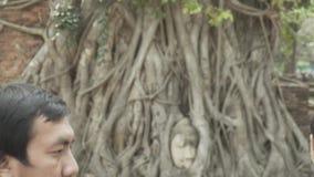 Ayutthaya Tailandia video d archivio
