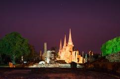 Ayutthaya, Tailandia Immagine Stock Libera da Diritti