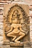 Statua cambogiana Immagini Stock Libere da Diritti