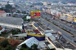 Ayutthaya, Tailandia: Vista de la ciudad fotos de archivo libres de regalías
