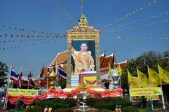 Ayutthaya, Tailandia: Wat Phanam Choeng Imagen de archivo libre de regalías