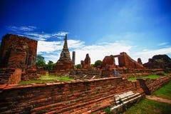 Ayutthaya Tajlandia Fotografia Stock