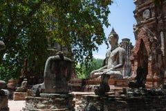 Ayutthaya Tajlandia Obrazy Royalty Free