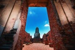 Ayutthaya Tajlandia Zdjęcia Royalty Free