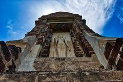 Ayutthaya, Tajlandia; Lipiec 3st 2018: Wat Ratchaburana w Ayutthaya Dziejowym parku obraz royalty free