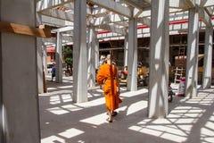 Ayutthaya Tajlandia, Październik, -, 21, 2016: Niezidentyfikowany imię budd Fotografia Stock