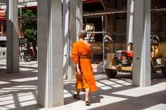 Ayutthaya Tajlandia, Październik, -, 21, 2016: Niezidentyfikowany imię budd Obraz Stock