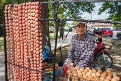 Ayutthaya Tajlandia, Październik, -, 21, 2016: Niezidentyfikowany Tajlandzki mężczyzna Obraz Royalty Free