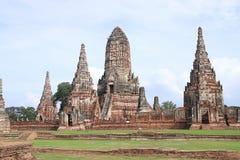 Ayutthaya-Tempel Lizenzfreies Stockbild