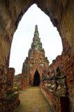Ayutthaya Temple Stock Photo