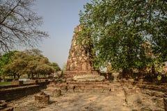 Ayutthaya temple Stock Photos