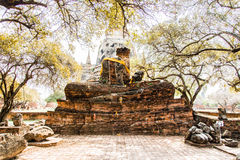 Ayutthaya temple Royalty Free Stock Photography