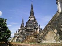 Ayutthaya : Temple de Wat Phra Sri Sanphet photo stock