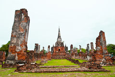 Ayutthaya Temple ,Thailand. Ayutthaya Temple ,Old Town of Thailand Royalty Free Stock Image