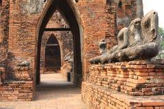 Ayutthaya Temple. Temple in Thailand,Ayutthaya Stock Photo