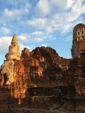Ayutthaya temple. Thailand Royalty Free Stock Image