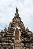 Ayutthaya Temples Royalty Free Stock Photos