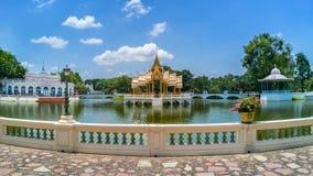 Ayutthaya, Thaïlande - 31 juillet 2017 : Douleur Royal Palace de coup, Photographie stock libre de droits