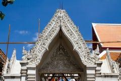 Ayutthaya, Thaïlande - octobre, 21, 2016 : Arc en construction Photos stock