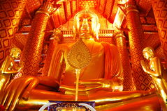 AYUTTHAYA-THAILAND-: Руины монастыря, руины старого p Стоковое фото RF