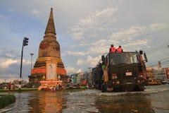AYUTTHAYA THAILAND Royalty-vrije Stock Foto