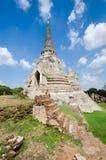 Ayutthaya Thailand Royaltyfria Foton