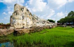 Ayutthaya Thailand Arkivfoton