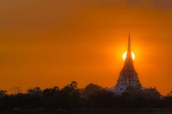 Ayutthaya Thailand Fotografering för Bildbyråer