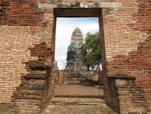 ayutthaya Thailand Obrazy Royalty Free