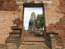 Ayutthaya, Thailand Royalty-vrije Stock Afbeeldingen